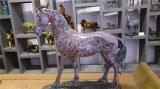 (Groot/het kleine) Paard van het koper, de Openlucht Dierlijke Decoratie van het Metaal van de Tuin, Binnenhuisarchitectuur