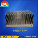Extrusão de alumínio coladas Fin Dissipador de calor