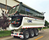 CIMC per l'Tri-Asse del camion pesante 25cbm del Vietnam che capovolge lo scaricatore del rimorchio