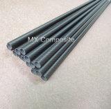 Alta resistencia de suministro de fibra de carbono de 3k tubo/tubo de 10mm