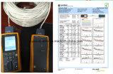 Cable doble al aire libre del audio del conector de cable de la comunicación de cable de datos del cable de la chaqueta Utpcat5e/Computer
