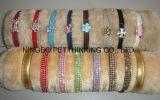Rhinestone Bling Pet Collar para cão e gato