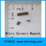 Aimant en céramique à cylindre à barreau à ferrite à haute qualité Ferrite Mini Magnet à vendre
