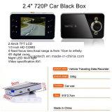 """Heiße Verkaufs-Geschenk-Auto DVR 2.4 """" Kamera-Digital-Videogerät VGA-720p mit 120 Grad-Ansicht-Winkel, 1.0mega CMOS in der Gedankenstrich-Parken-Kamera DVR-2440"""
