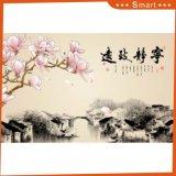 La peinture à l'huile chinoise imprimée à jet d'encre pour la décoration intérieure
