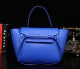 De hete het Verkopen Kleur van het Contrast van de Handtassen van de Ontwerper van de Totalisator Dame Bag met Douane Afgedrukt Embleem Emg5035