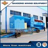 熱い販売の金鉱山のための移動式トロンメルスクリーン