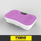 200W vibración placa de máquinas de vibración Crazy Fit Massager para el edificio del cuerpo