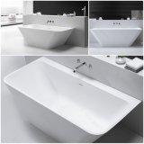 Una vasca calda del bagno dell'interno di pietra della vasca da bagno della persona