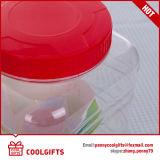 Vaso di plastica della caramella dell'animale domestico di alta qualità, vaso dell'estetica dell'alimento