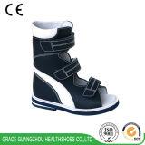 Здоровье фиоритуры обувает протезные корректирующие ботинки с счетчиком высокой пятки