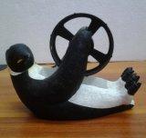 Fancy Bonitinha Penguin dispensador de fita de embalagem de resina decorativas