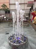 Fontaine musicale avancée de jardin de l'eau de danse pour modèle et construction de stationnements d'hôtels, de ressources et de casinos