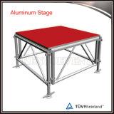 Étape en aluminium réglable d'étape extérieure de concert