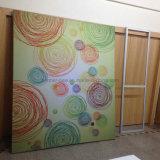 Bandiera di alluminio della visualizzazione del blocco per grafici del tessuto facile del cambiamento (SS-FB-9)