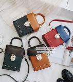 형식 작풍 숙녀 Sy8123를 위해 장식용 목을 박는을%s 가진 대중적인 판매 상자 어깨에 매는 가방 색깔 충돌 핸드백