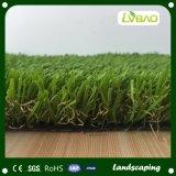 庭の装飾のための人工的な芝生の美化