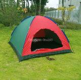 屋外の2人の余暇の単一層のキャンプテント