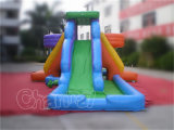 Corrediça dobro da água inflável ao ar livre da boa qualidade para os miúdos (CHSL272-1)