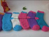 Máquina para hacer punto de los calcetines polares del paño grueso y suave
