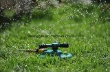 Rociadores de césped Rociadores automáticos de agua de jardín Sistema de riego para césped 3600 pies cuadrados Rotación de cobertura 360 grados
