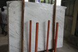 Mattonelle di marmo bianche di Volakas della lastra di marmo bianca poco costosa di Chinsese