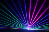 illuminazione della fase della luce laser di animazione di colore completo di 3W RGB