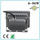 Indicatore luminoso di inondazione impermeabile di IP65 6W-96W LED con Ce e RoHS