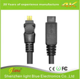 Firewire Plug Cable IEEE1394 Cabo 4pin a 4pin