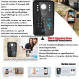 WiFi RFID Kennwort-videotür-Telefon-Türklingel-Wechselsprechanlage-AusgangsSicherheitssystem