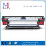 roulis de 3.2m pour rouler l'imprimante en aluminium de drapeau de tête d'impression UV de l'imprimante Withgen5 à vendre Mt-Softfilm3207-UV