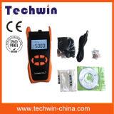 Medidor de potência de fibra óptica multi função Techwin Tw3208ea