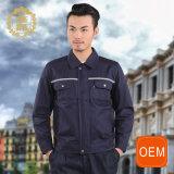 Uniforme riflettente di usura del lavoro del tecnico di sicurezza dell'OEM, multi uniforme ferroviaria Pocket classica
