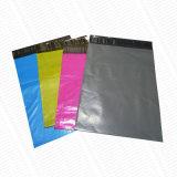 Bolsas de correo económico de polietileno gris con buena resistencia a la perforación