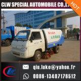 Diesel van China van de lage Prijs Vrachtwagen Opgezette Straatveger