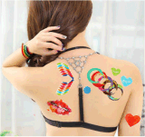 I graffiti impermeabilizzano gli autoadesivi provvisori del tatuaggio