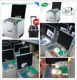 Appareil de contrôle portatif du lumen le TDC de DEL avec le mètre d'alimentation CC (LT-SM999)