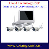 Plug and Play WiFi Kit NVR con la cámara IP