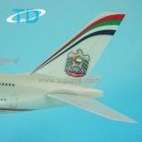 Modèle d'avion à passager A380 Etihad 37cm à usage professionnel