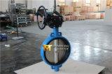 Клапан-бабочка шестерни глиста Pn16 от Tianjin