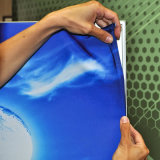 Affichage graphique du cadre graphique en tissu, systèmes de charpente en fil de silicium