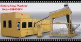 Máquina rotatoria automática del moldeo por insuflación de aire comprimido de la botella del animal doméstico de 6 cavidades por completo