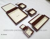 Heißer Verkaufs-hoch glatter hölzerner kundenspezifischer Schmucksache-Kasten