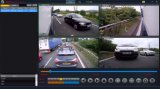 Federación de 4 canales de 4G Mdvr coche DVR de seguridad