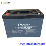 Lange Lebensdauer-Hochtemperatursolargel-Batterie 12V100ah