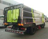 Dongfengの乾燥した掃除人7000m2の自動真空の道掃除人のトラック