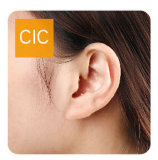 デジタル補聴器4チャネル、見えない小型補聴器
