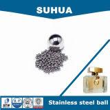 6,35mm 316 esmalte de uñas bolas de acero inoxidable