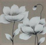 Überraschender Handamd Blossing Lotos-Öl Canvasl Farbanstrich für Wohnzimmer
