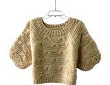 Suéter tricotado de mão personalizada Cardigan Pulôver vestuário de malha